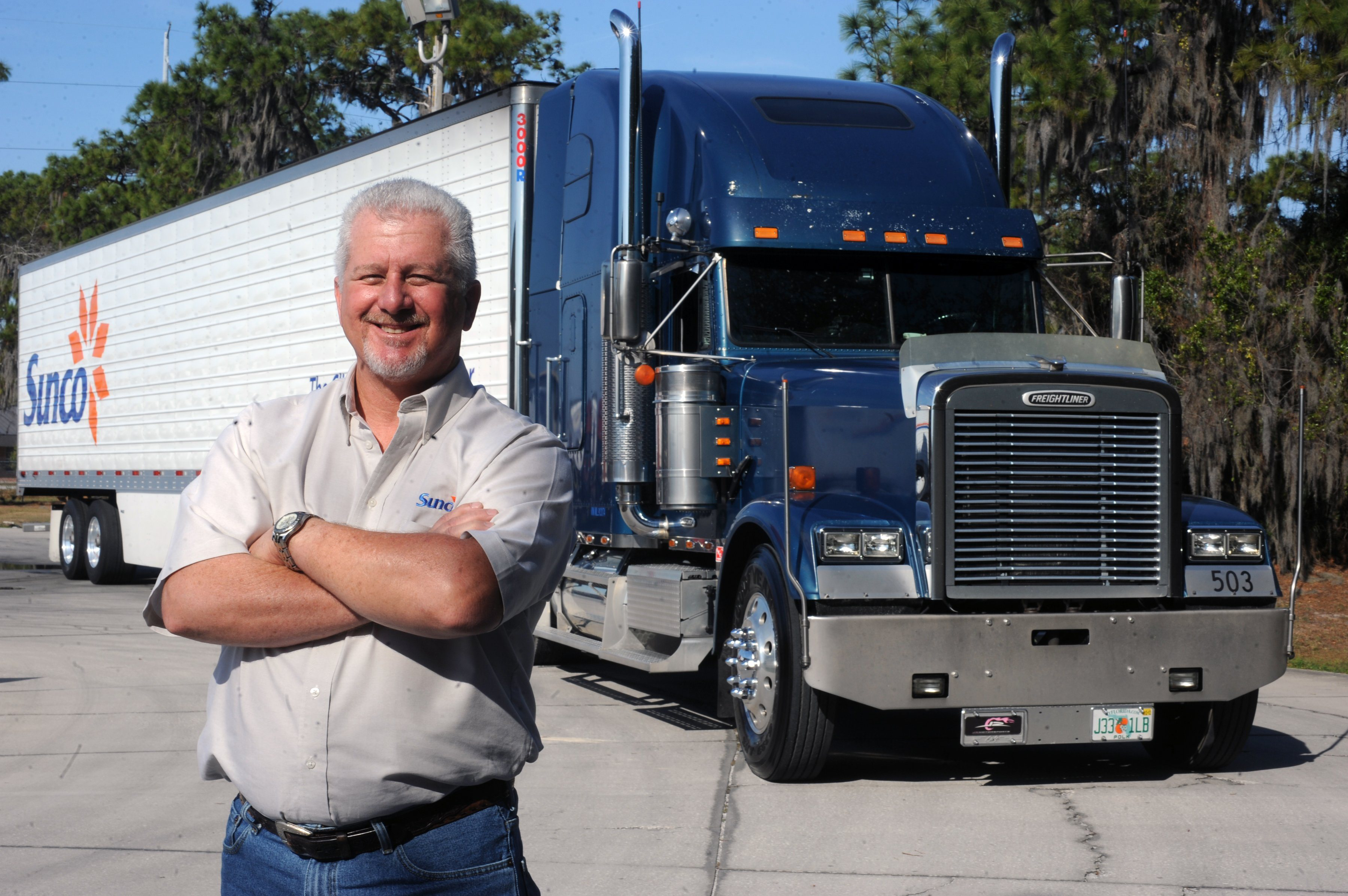 Sunco's Finest: Jimmy McSwain named April Owner-Operator of the Month