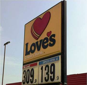 Love's to open 10 natural gas fueling stations in Oklahoma