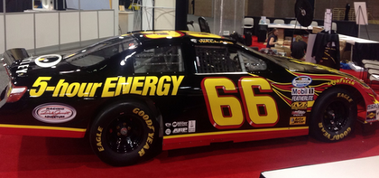 A free drive in the 5-Hour Energy car