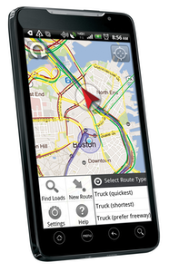 TeleType truck routing app for Android