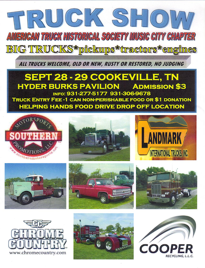 Awesome trucks and the fruits of debate: Two events upcoming