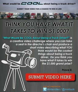 What's cool about being a truck driver? Video contest details