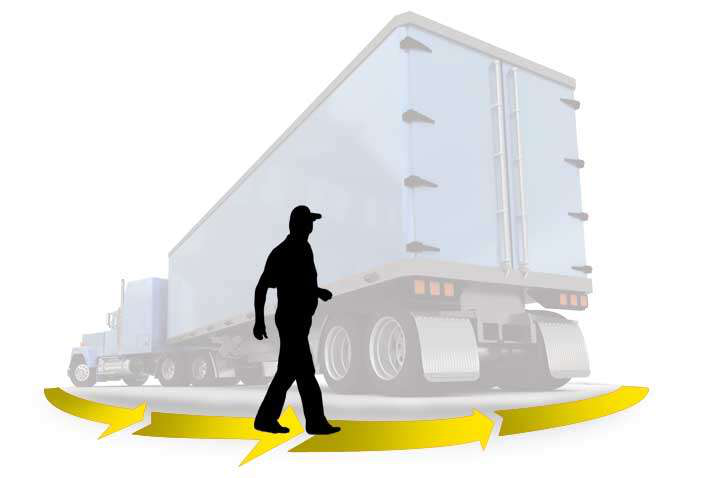 Use downtime to take a few walks each day, TCA recommends in driver health webinar
