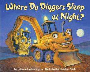 Where do the trucks sleep at night?