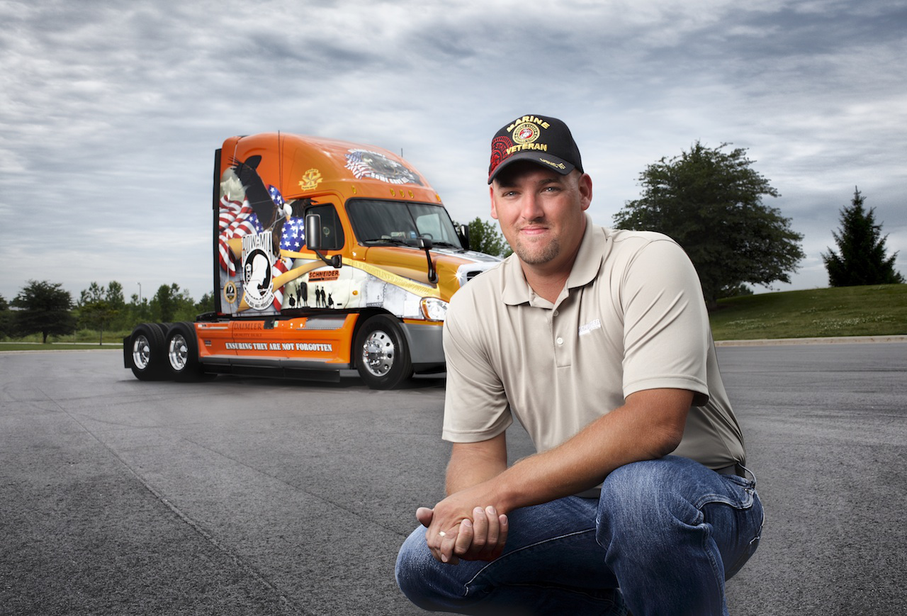 Fit for duty: Vets find new life in trucking