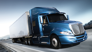The International ProStar is one of the trucks being recalled by Navistar for potential braking issues.