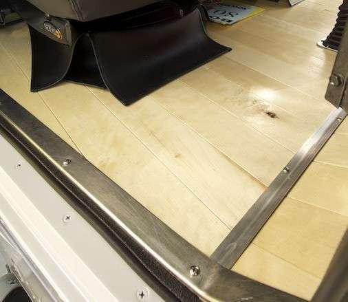 Custom rigs overdrive owner operators trucking for Wood floor kits for pickups
