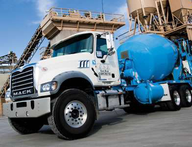 Granite MHD saves weight for ready mix hauler