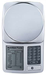Nutrition label scale