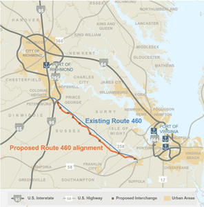 Va.'s new U.S. 460 to charge $11.72 toll