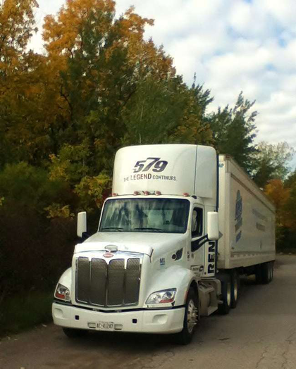 Another fall view, with truck!