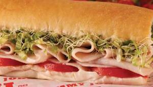 Turkey sub sandwiches