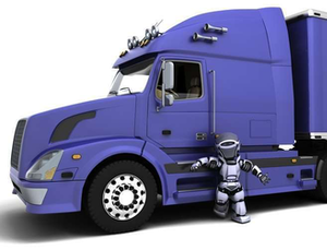 A forecast revisited: 'Big-rig truck fleets will be driverless'