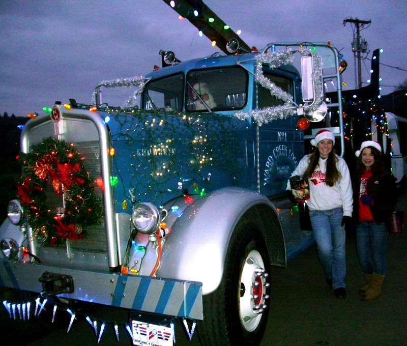 Tis The Season Trucks Decked With Christmas Lights