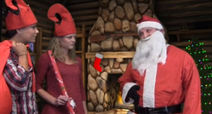 LED nose lights, sleigh skirts and more biz tips for operator Claus