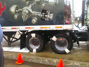 Meritor demos SMARTandem, expects growth in 6x2 axles