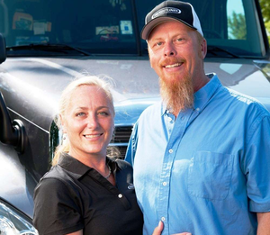 This story's author, Wendy Parker, writes the George & Wendy Show blog, appearing several times a week on OverdriveOnline.com, dispatched from her ridealong position in the truck (though not this particular one) with her owner-operator husband, George.
