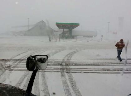 Snow, wind play havoc on plains