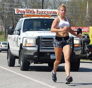 Jazzy Jordan is still in race to help truckers