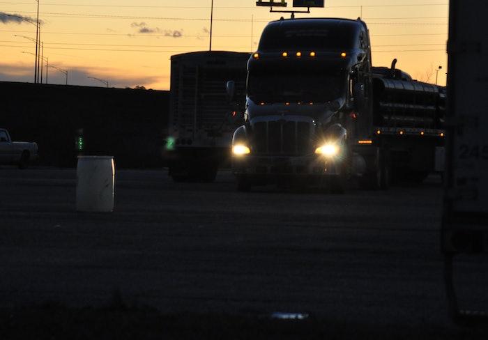 hours night truck stop