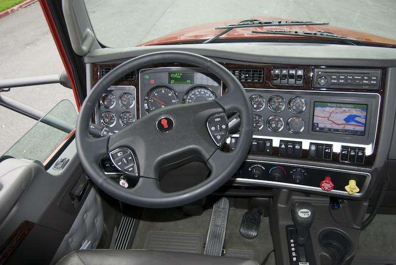 Kenworth t660 interior overdrive owner operators trucking magazine for Kenworth t660 studio sleeper interior
