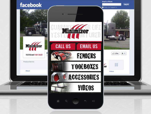New: Minimizer mobile site