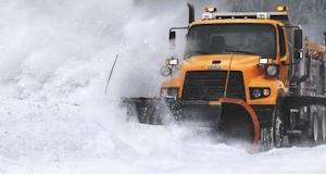 Freightliner snowplow