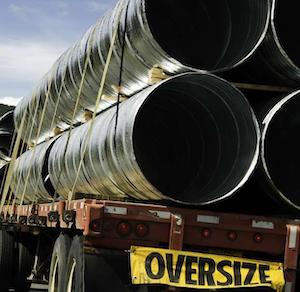 oversized load flatbed