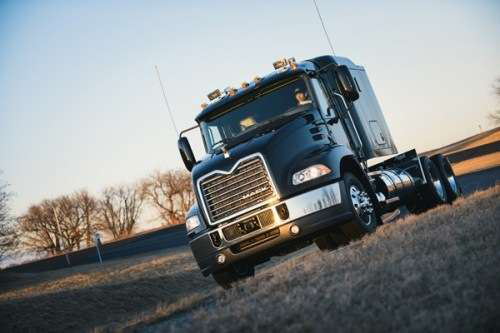 Mack showcases new fuel-saving suspension system