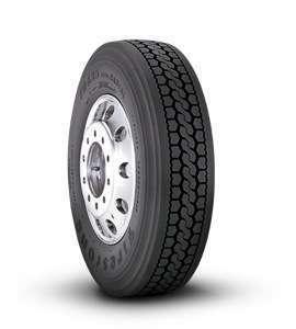 Firestone reenters truck market with radial line