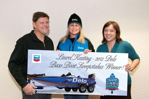 Delo names bass boat winner