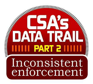 "Working with CCJ and RigDig Business Intelligence, a division of Overdrive publisher Randall-Reilly Business Media, we analyzed inspection and scoring data for CSA's first two years. Here we offer insights into enforcement patterns and what you can do to keep your business in the clear. Find further ""Inconsistent enforcement"" installments via this page."