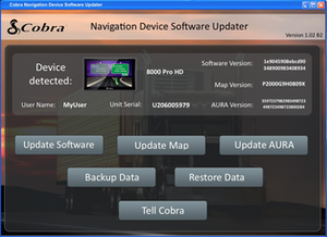 Cobra HomeBase docking software