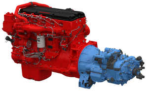 The new powertrain package combining the ISX15 with unique SmartTorque2 ratings and Eaton's Advantage Series automated transmission