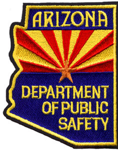 Arizona DPS shoulder patch