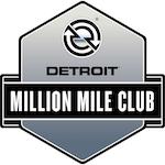 Detroit Million Mile Club Logo