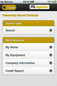 "Download FTL Logistics' app for Android by clicking through the image. For iPhone, search ""FTL BFF"" in the App Store."