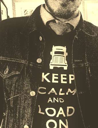 For an example of the British poster on which this GetLoaded t-shirt design is based, follow this link.