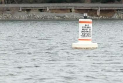 Lake Norman buoy