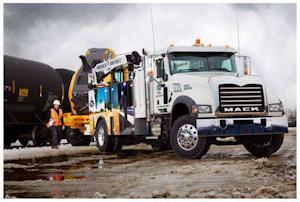 Mack vocational: New Granite MHD 4x2