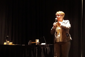 FMCSA Medical Programs Chief Elaine Papp spoke at the 2012 edition of the Truck Driver Social Media Convention. Find reporting from her talk here.