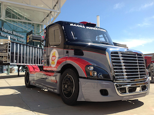 Mike Ryan Racing Freightliner Cascadia