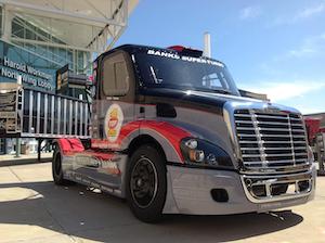 Mike Ryan Racing Freightliner Cascadia