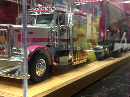 Bowling Transportation Breast Cancer Awareness Project Freightliner