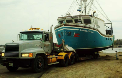 Tim Toppin of Toppin's Diesel and Marine Service sent in this shot, which he describes as