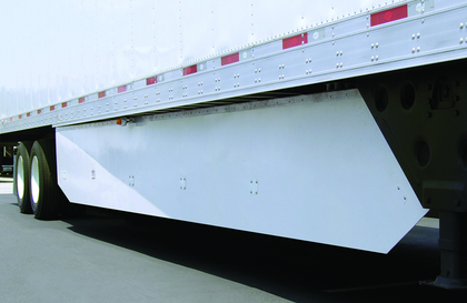 Utility's new side-skirt design evolved over years in which the company believes it addressed key durability concerns for dry van/refrigerated fleets.