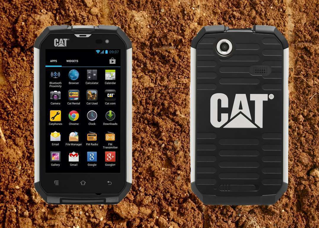 Hands on review of Caterpillar's B15 Android smartphone
