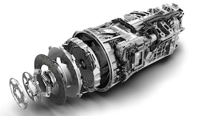 The DT12 automated-manual transmission will begin shipping in the U.S. next month, Daimler says.