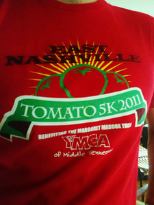 Tomato 5K race shirt edit