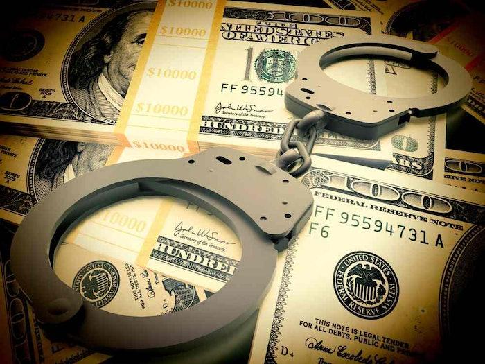 stolen money crime bribe